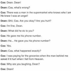Ohhh Cas. ... This is lovely :)