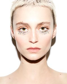 Bare shoulders/Minimalist. Glitter Punk, Alex Boldea for Beauty Is Boring