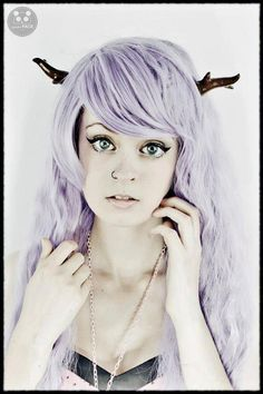 Hey, I found this really awesome Etsy listing at http://www.etsy.com/listing/128709124/classic-lolita-antlers-hair-clips-brown