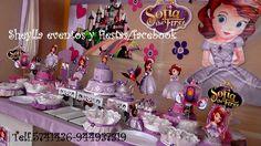 Decoración y torta temática de Princesita Sofia .Lima-Perú     Correo: sheylla_eventos@hotmail Telf.5741436-944937319     Facebook: Sheylla eventos y fiestas/facebook
