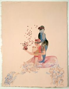 Shahzia Sikander - She is such a delicate, considerate artist.