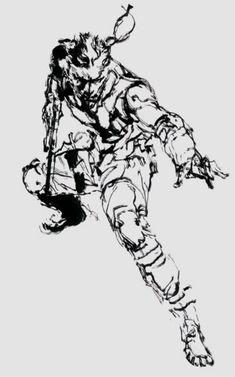 Yoji Shinkawa - Metal Gear Solid character Solid Snake