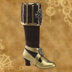 Steam punk boots