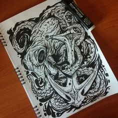 #Draw #sea #wallpaper #sketch #sketchbook