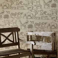 Andrew Martin Ark Wallpaper | Houseology