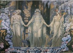 The Women of Eleusis by Jean Delville