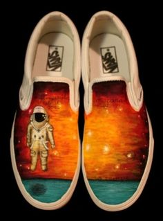 outter space Painted Vans affcfebc6