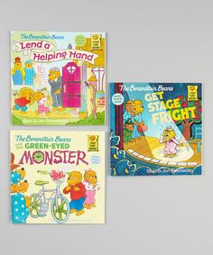 Take a look at this Berenstain Bears Green-Eyed Monster Paperback Set on zulily today!