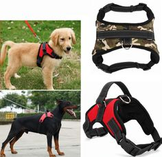 Dog Soft Adjustable Walk Out Harness