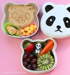 Panda bento box lunch by anotherlunch.com, via Flickr