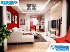 Extend And Enhance The Pleasure Of Your Tv Time. ~ Berger Paints  #Bergerpaints #