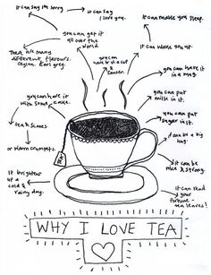 Why i love tea! <3 #teatime #healthytea