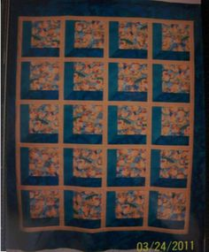 Ducks at Play quilt top