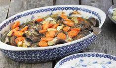 Piersi kurczaka pieczone z warzywami Polish Recipes, Calzone, Kfc, Coleslaw, Pot Roast, Paella, Ethnic Recipes, Food, Kitchens