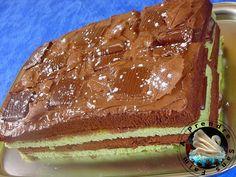 A Prendre Sans Faim: Gâteau de Noël After-eight http://www.aprendresansfaim.com/2014/12/gateau-de-noel-after-eight.html