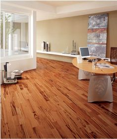 I LOVE tigerwood flooring! The varying colors is great for the different colors in the house.