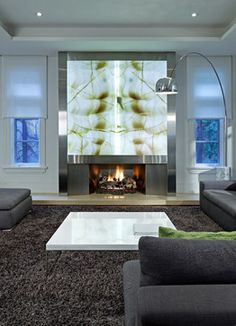 Family Room - contemporary - family room - toronto - Douglas Design Studio