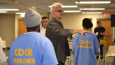 In California, six out of 10 inmates will return to prison within three years of being released, but a drama workshop run by actor Tim Robbins appears to cut this rate in half. Half A Decade, Tim Robbins, Recurring Dreams, The Shawshank Redemption, Acting Class, Passionate People, Bbc Radio, Difficult People, News Magazines