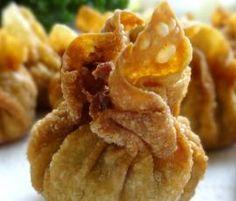 Recette Wontons (raviolis chinois frits) par Dahu - recette de la catégorie Plat principal - divers