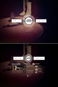 Design gets time... Get Template Espresso! That's JavaScript Based #template // Regular price: $61 // Unique price: $4100 // Sources available: .HTML,  .PSD #JavaScript #Responsive #County #Music #Singer
