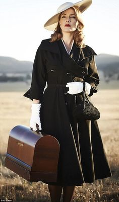 Beautiful! The first look at Kate Winslet in The Dressmaker which was released last Decemb...