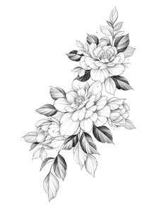 55 Simple Small Flowers Tattoos Drawing Tattoos Ideas For Women This Season Bild Tattoos, Dog Tattoos, Body Art Tattoos, Small Tattoos, Sleeve Tattoos, Flower Tattoo Drawings, Tattoo Sketches, Drawing Tattoos, Flower Tattoos
