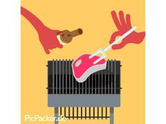 Drop it like its hot! Its Friday, summer is here- best conditions for a nice BBQ-Party on the weekend. We created this little PicPacker GIF-Away for all our friends on facebook. Feel free to share a good steak!   www.picpacker.de