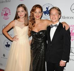 Candace Cameron Bure takes her daughter Natasha and son Lev to the Carousel of Hope Ball in Beverly Hills!