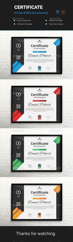23 Best Certificate Layout Images