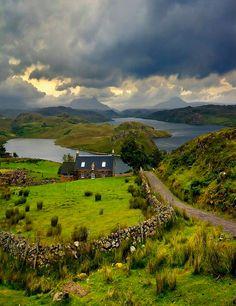 colour my world The Highlands Scotland