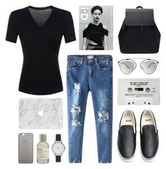 """""""simplicity's best"""" by jesicacecillia ❤ liked on Polyvore featuring Olivia Burton, Vans, Native Union, Le Labo and Christian Dior"""