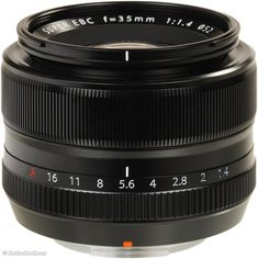 Fuji 35mm f/1.4 X-mount - $899 Fuji Shop