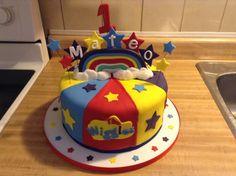 The Wiggles Cake Wiggles Birthday, Wiggles Party, First Birthday Cakes, Baby Birthday, 1st Birthday Parties, Birthday Themes For Boys, Birthday Crafts, Birthday Party Decorations, Birthday Ideas