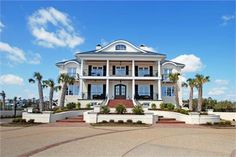 MAGNIFICENT MANSE | LUXURY HOMES 8 Bedrooms and 8 baths in Wilmington Nc on the beach!