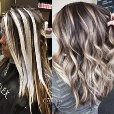 Blonde Hair For Brunettes, Brown Blonde Hair, Icy Blonde, Black Hair, Balayage Hair Brunette With Blonde, Balayage Hair How To, Highlighted Hair For Brunettes, Hair Ideas For Brunettes, Blonde Hightlights