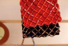 Hermes Petit H Mesh silk purses