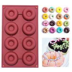 doughnuts  Mold Cake Chocolate Cookies Baking Decorating Tool by usadiy4love on Etsy