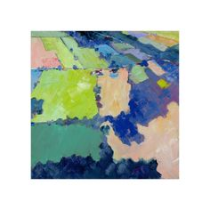 """Above the Farm 1"" - Art Print by Stephanie Goos Johnson in beautiful frame options and a variety of sizes."