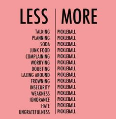 Pickleball Funny Quotes
