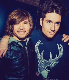 I love them! Dan's eyes and Woody's smile