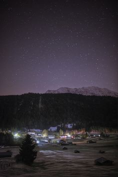 Stars over Gerold, via Flickr.