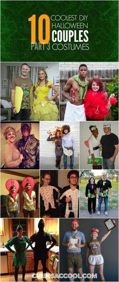 10 COOLEST DIY HALLOWEEN COUPLES COSTUMES — PART 3   CULDESACCOOL.COM
