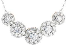 Michael O' Connor For Bella Luce® Diamond Simulant Rhodium Over Silve