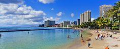 Enjoy an afternoon on world famous Waikiki Beach #Waikiki #beach #Hawaii #Oahu #Honolulu