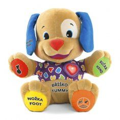 This Fisher-Price Laugh & Learn puppy features two interactive play modes for hours of fun and learning. Fisher Price, Unique First Birthday Gifts, Educational Baby Toys, Toys For 1 Year Old, Baby Doll Toys, Mattel, Musical Toys, Best Kids Toys, Cool Toys