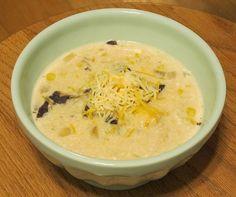 omg- white chicken chili in the crockpot- no 'cream of' soups!