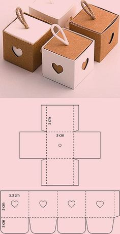 Diy Crafts Hacks, Diy Crafts For Gifts, Diy Gift Box, Diy Box, Paper Crafts Origami, Diy Paper, Diy Birthday, Birthday Gifts, Creative Gifts