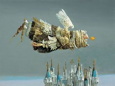 Pilgrim Angel -   James Christensen