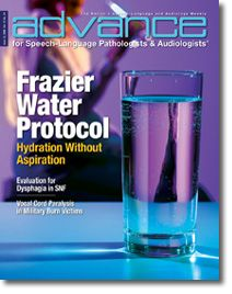 Frazier Free Water Protocol for patients with dysphagia. Repinned by SOS Inc. Resources pinterest.com/sostherapy/.