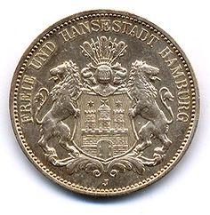ドイツ帝国 3マルク銀貨 貨幣資料館 Naguraka.net
